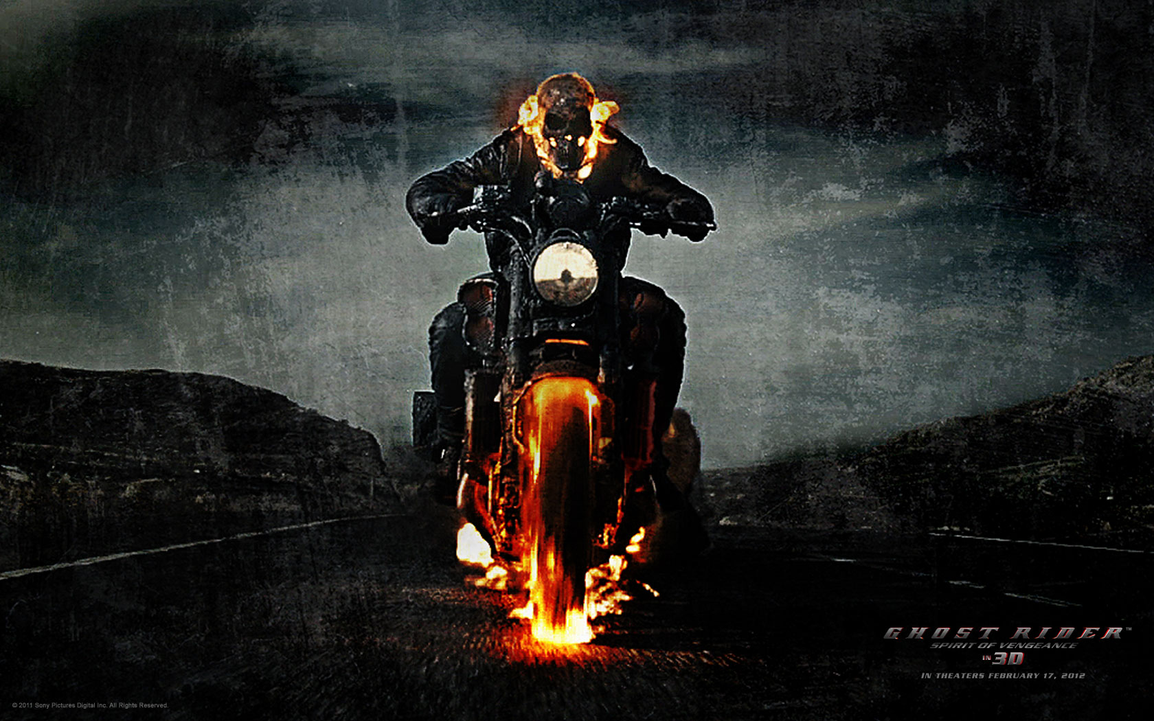 I can't remember much about the first Ghost Rider. Peter Fonda played the devil, I remember that. (Ooh, he was Captain America in Easy Rider — how META!