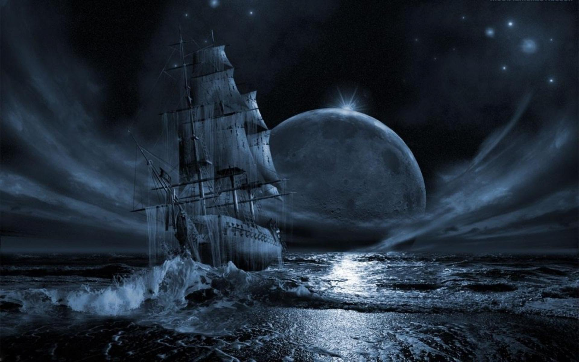 Ghost Ship Hd Wallpaper Wallpapers Abstract Hq
