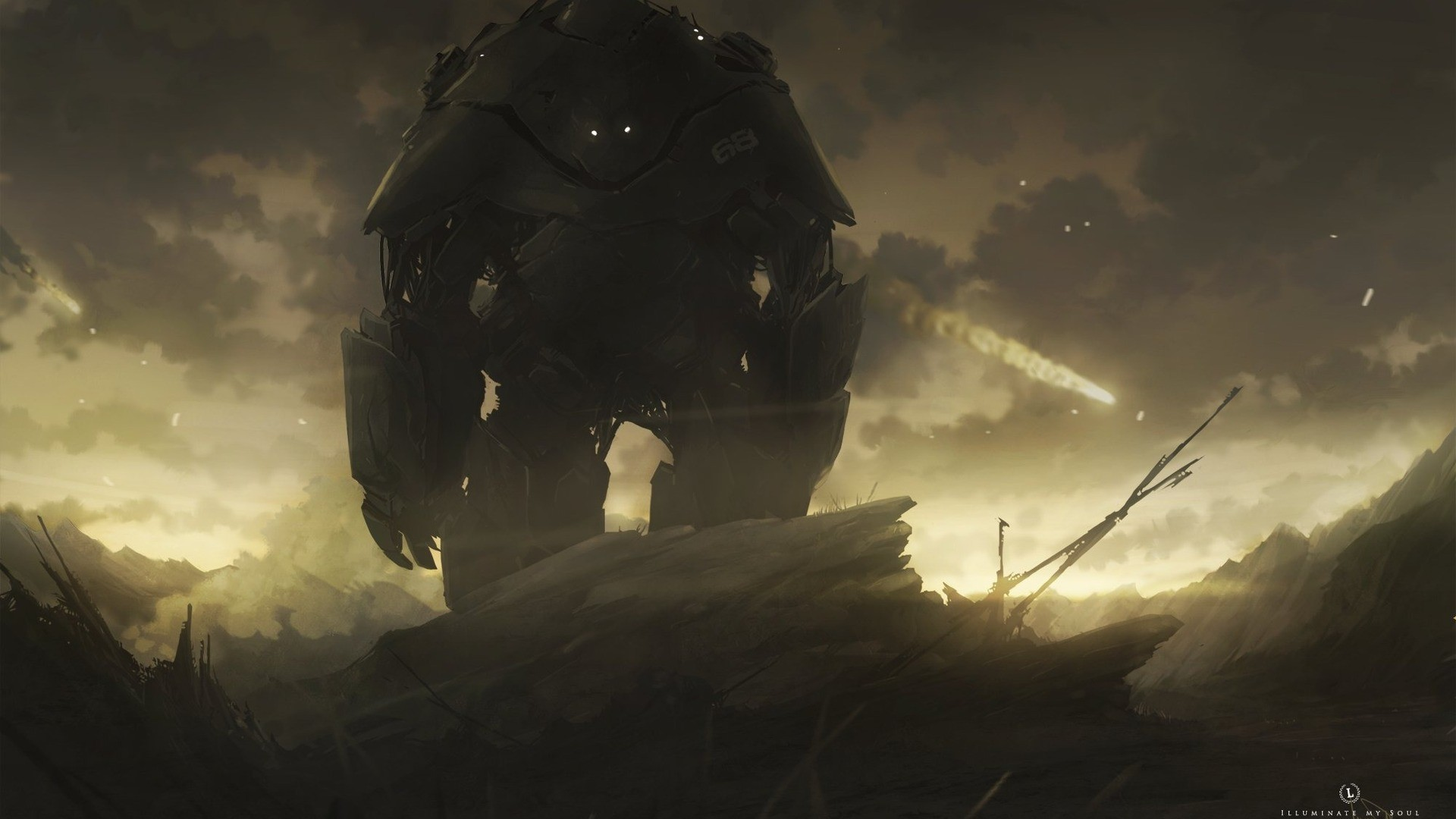Giant Robot High Definition Wallpaper