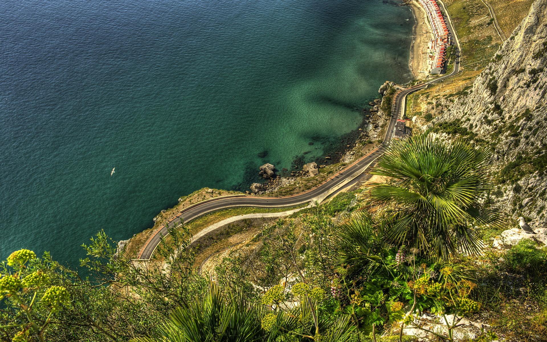 Gibraltar coast