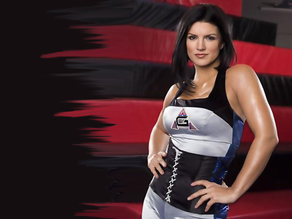 Gina Carano HD Wallpaper