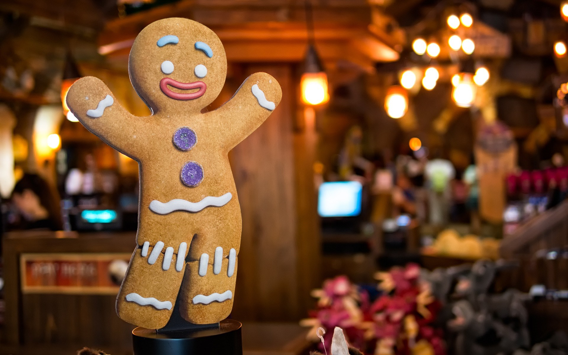 Gingerbread Man Biscuit Cookie Christmas