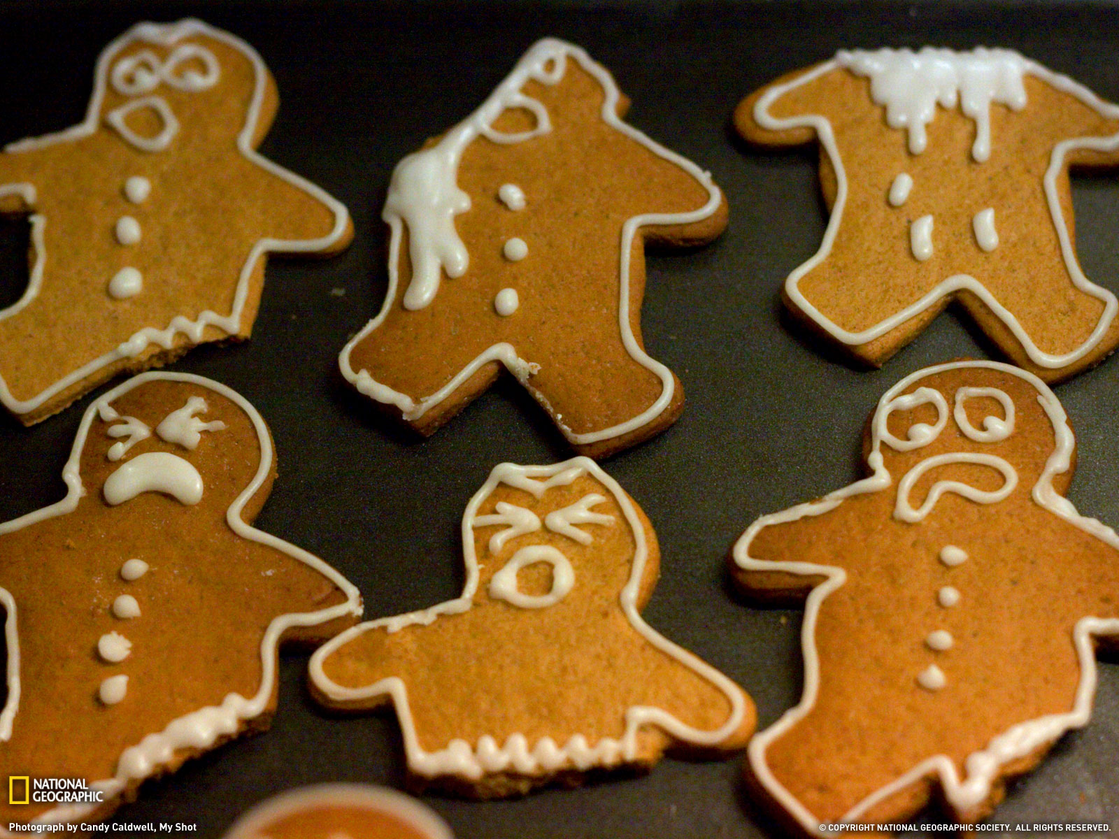 Gingerbread Man Wallpaper