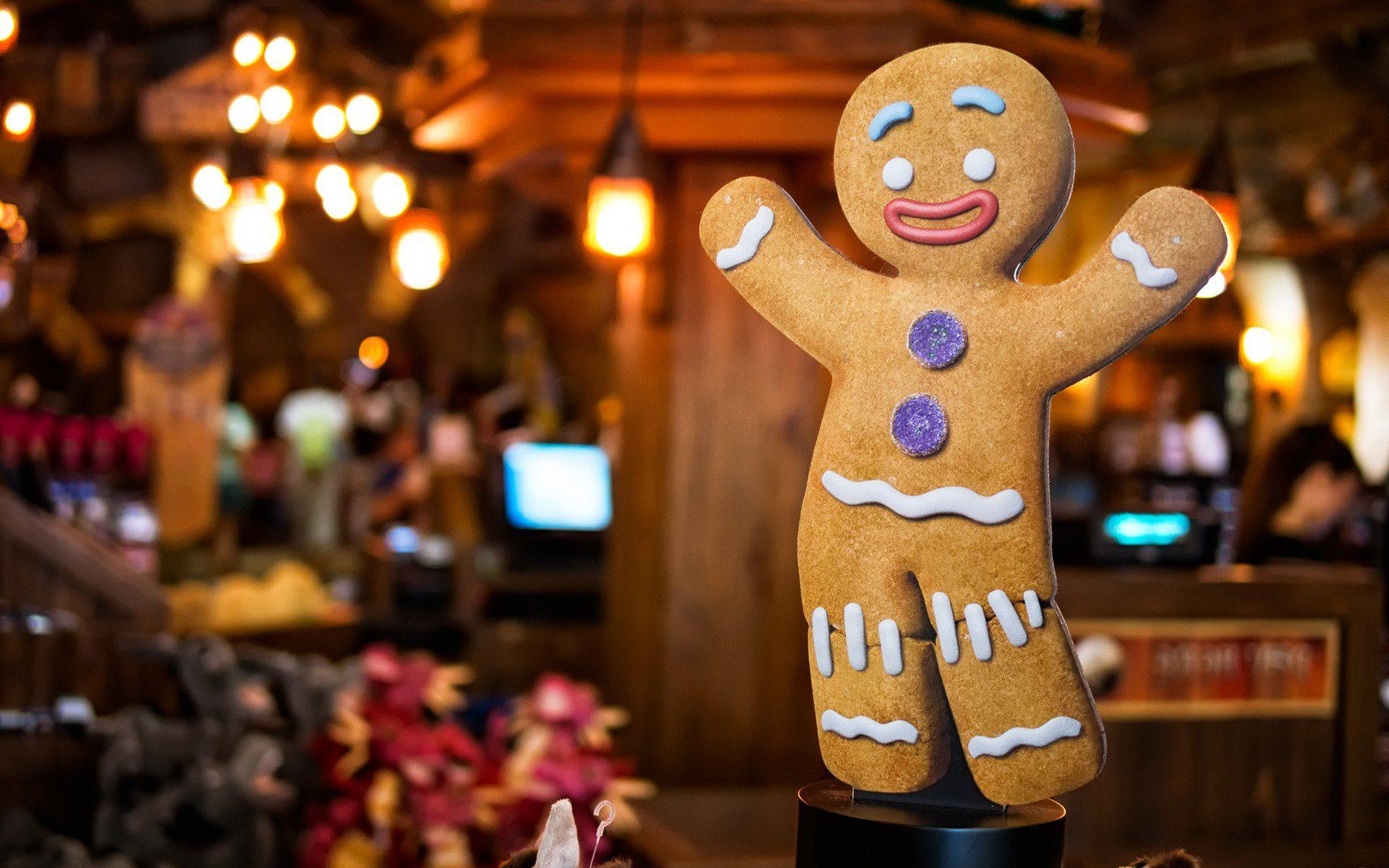 Download Gingerbread Man wallpaper