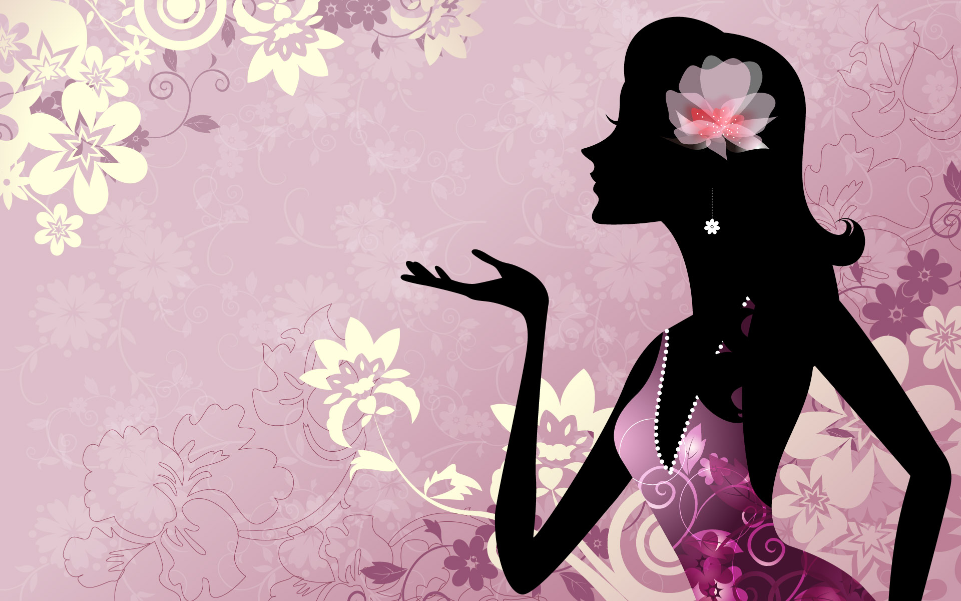 2013 2013 Vector Girl Full Hd Wallpaper