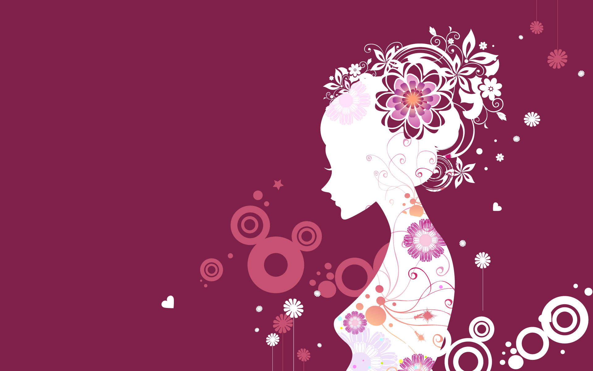New Vector Girl Full HD Wallpaper #10061 | Just another High Wallpaper