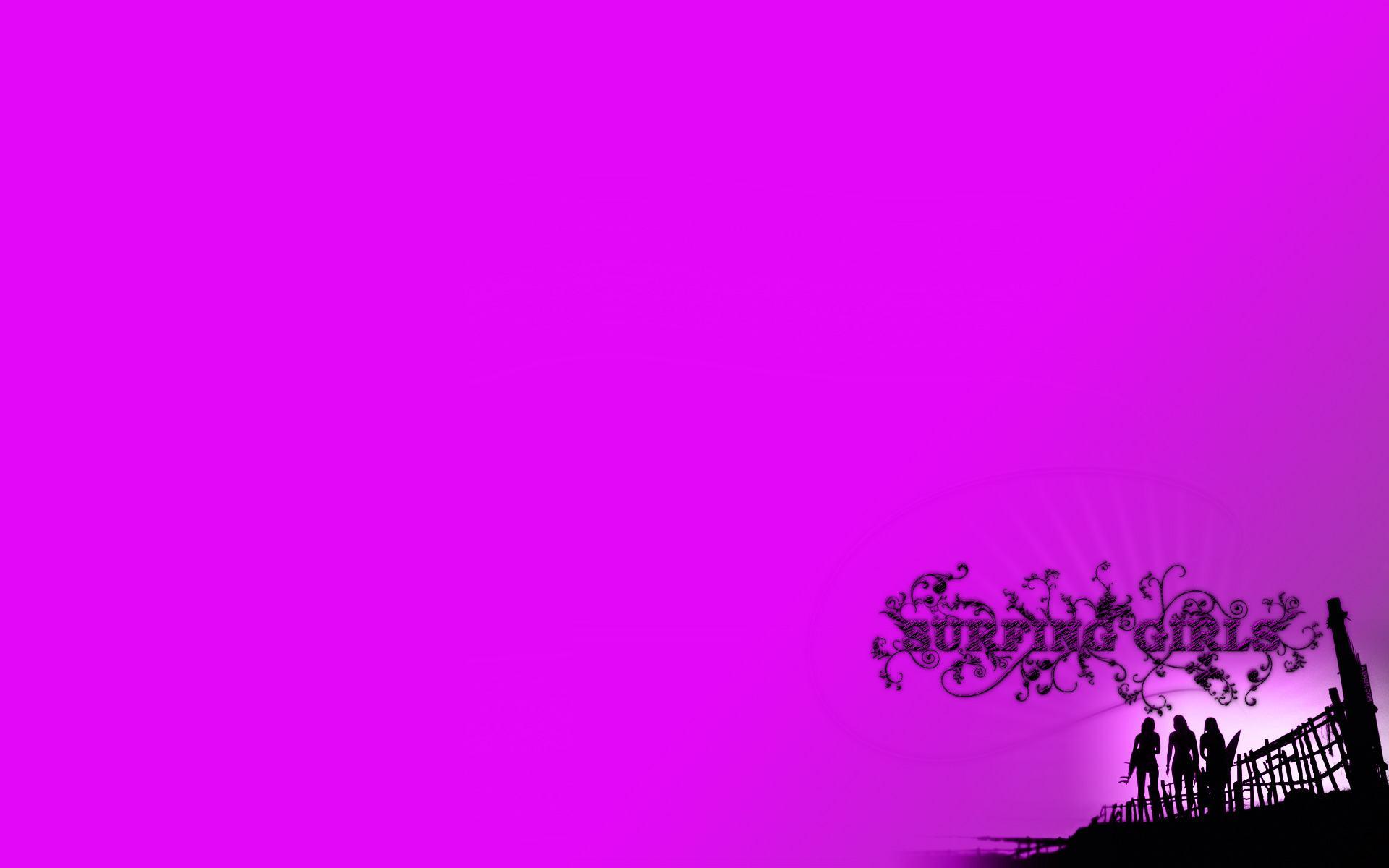 Wallpapers Surfing Pink Girls 162977