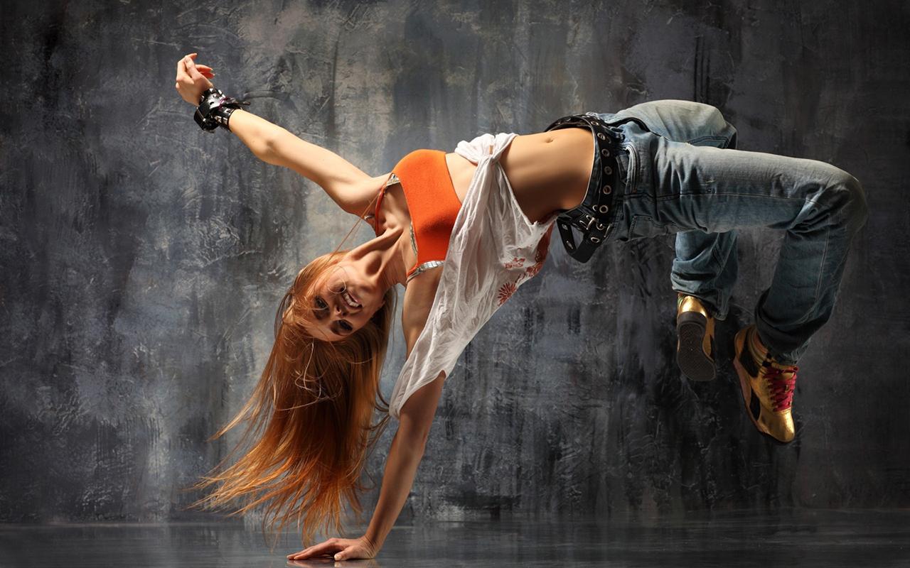 Girl Beak Dancing
