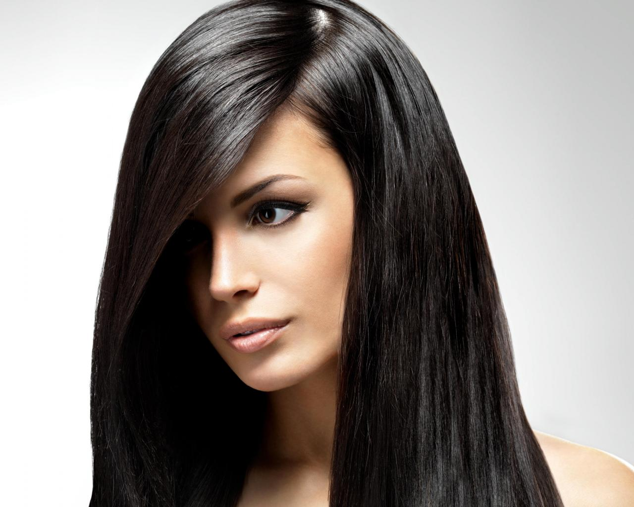 Wallpaper Tags: lovely sensual girl face dreamer beautiful woman long hair hair photography eyes lips brunette beauty lady female