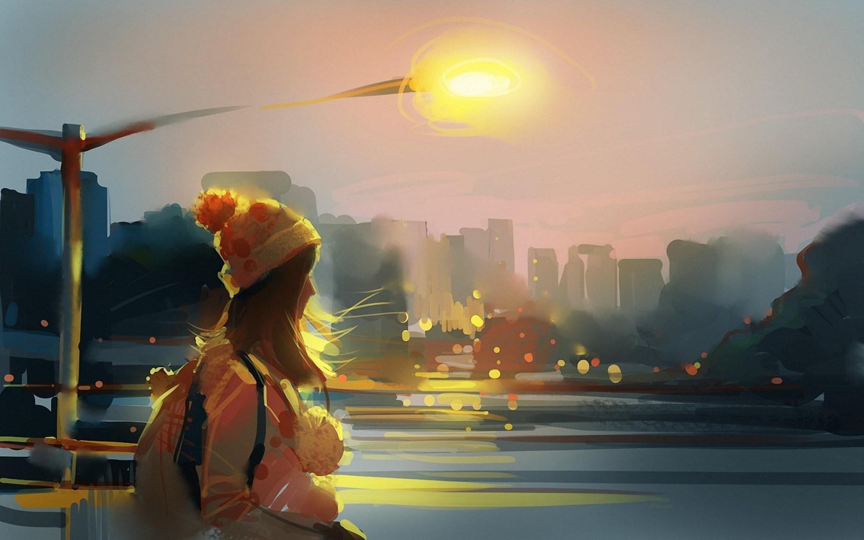 Girl City Art