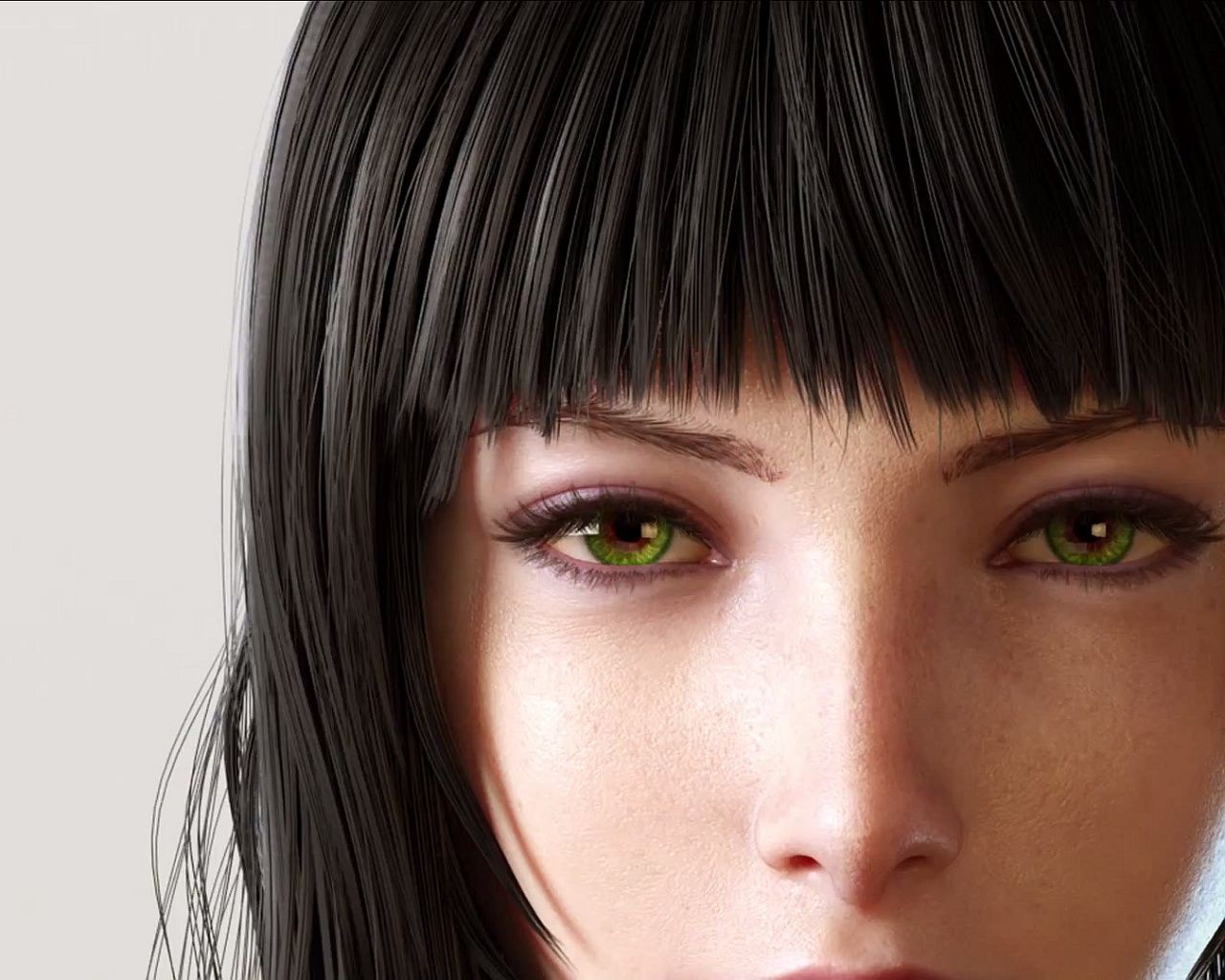 Girl from final fantasy xv