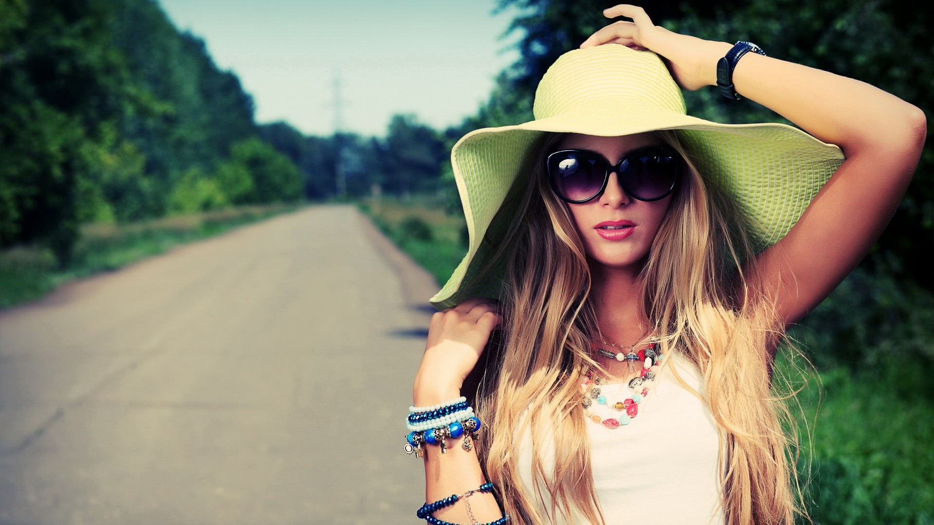 Girl Hat Photo
