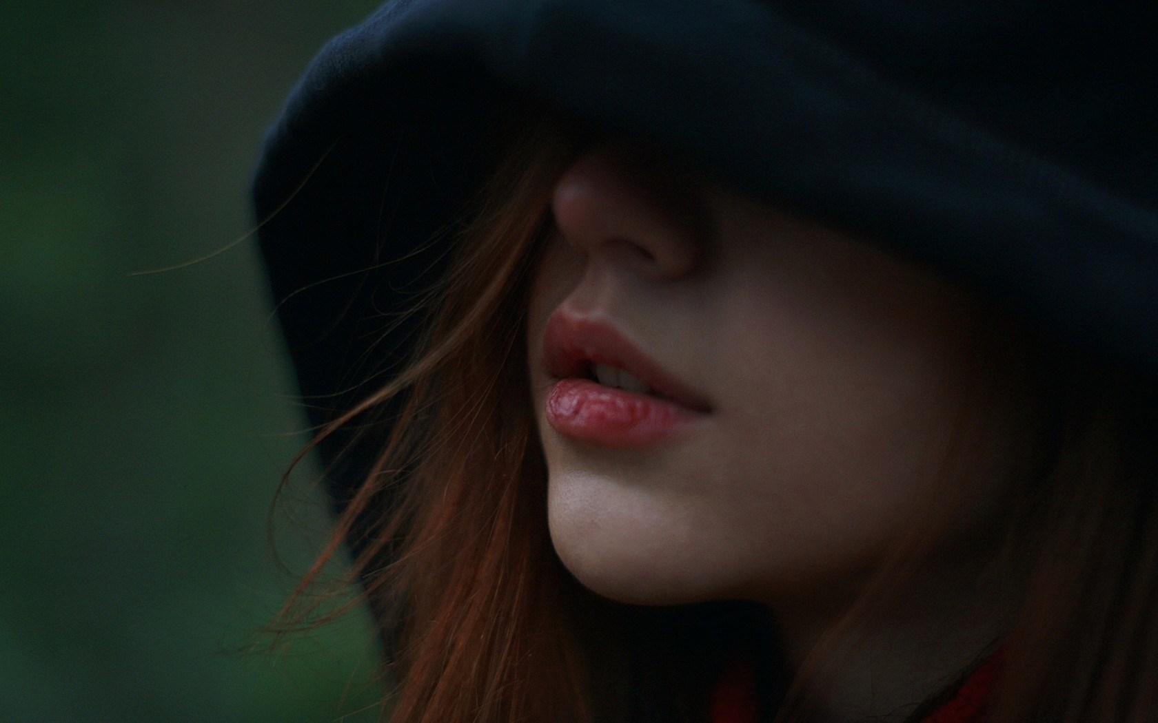 Girl Mouth Lips Mood