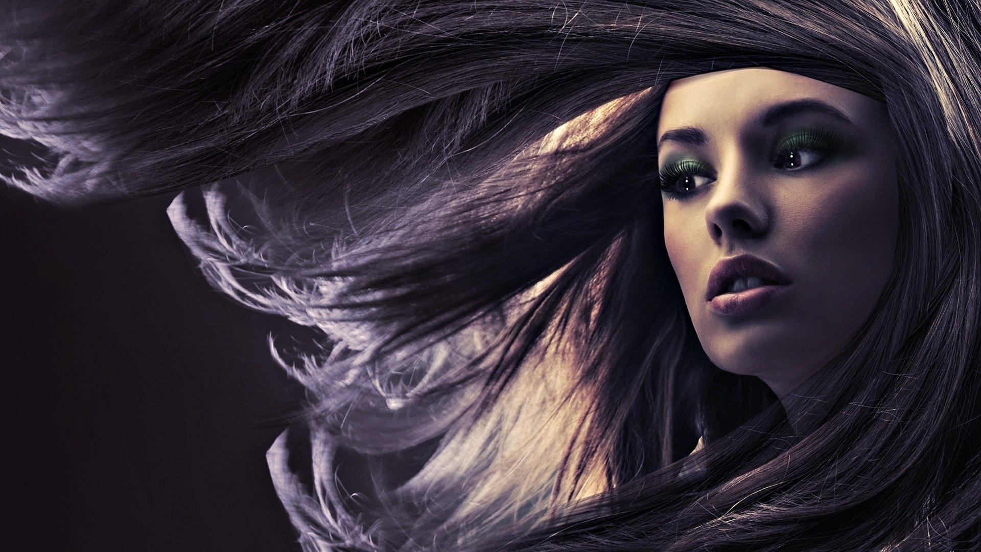 Girl Portrait Hair