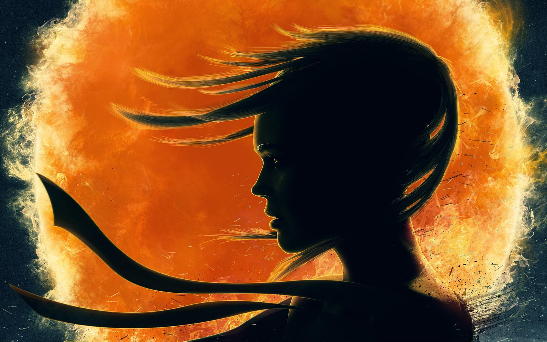 Girl shadow art