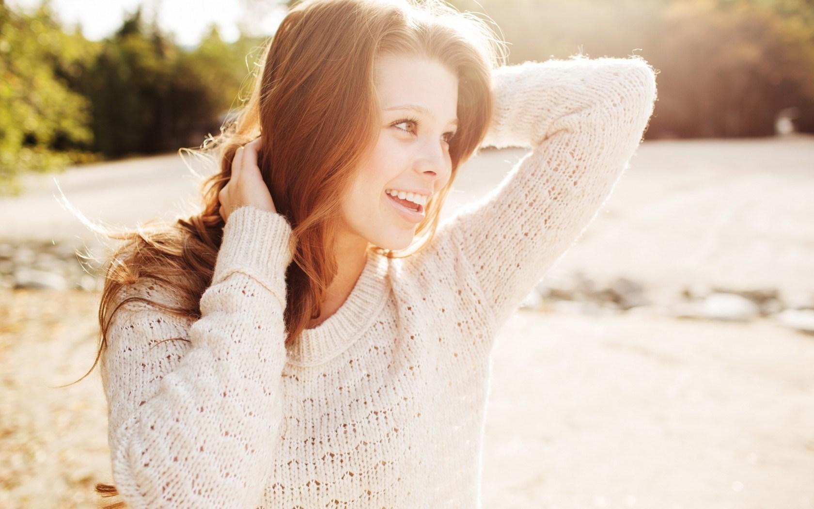 Girl Smile Sweater