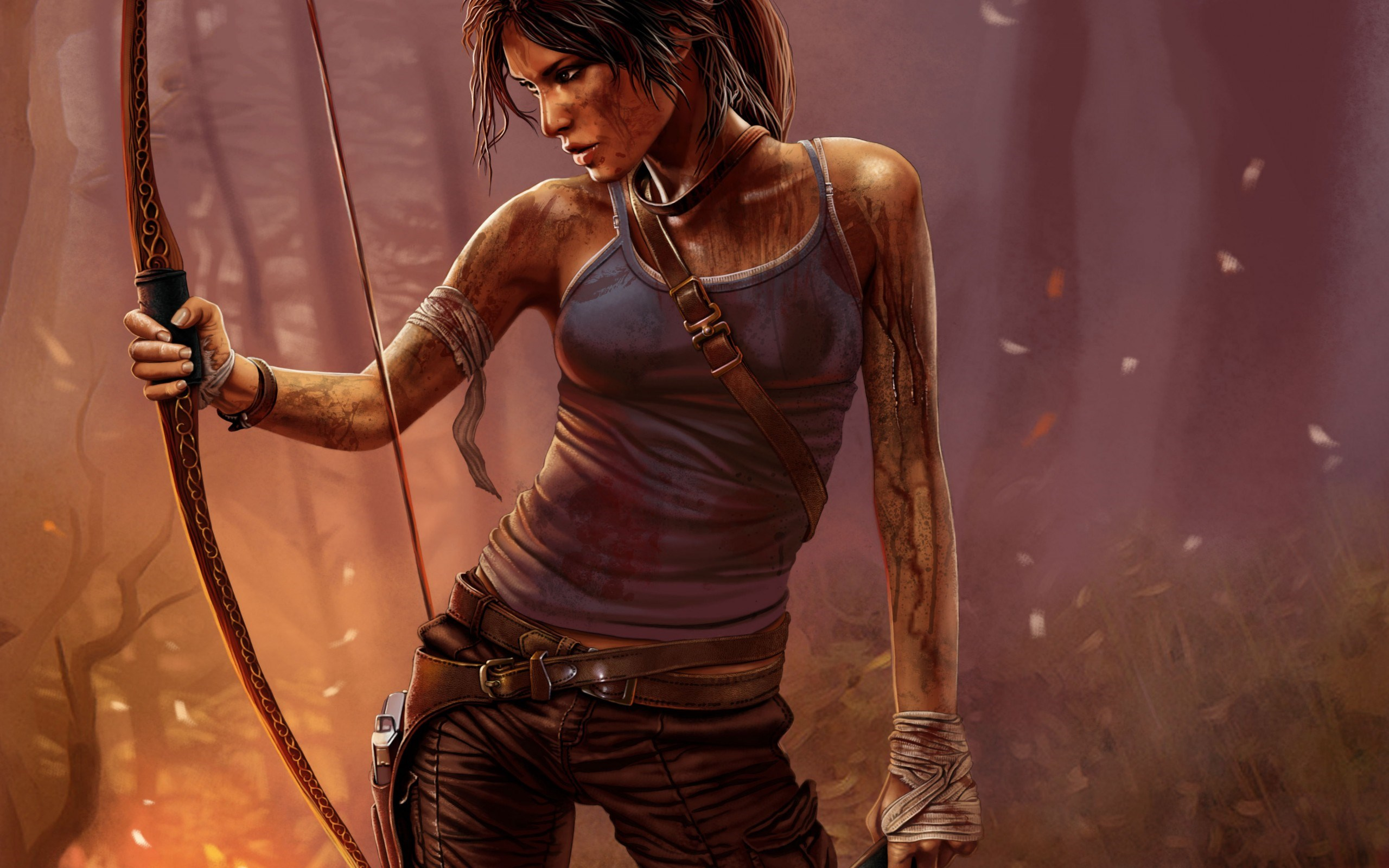 Girl Tomb Raider Lara Croft