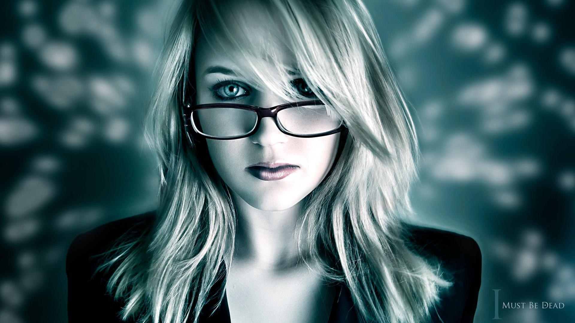 Girl In Glasses 38 Cool HD Wallpaper