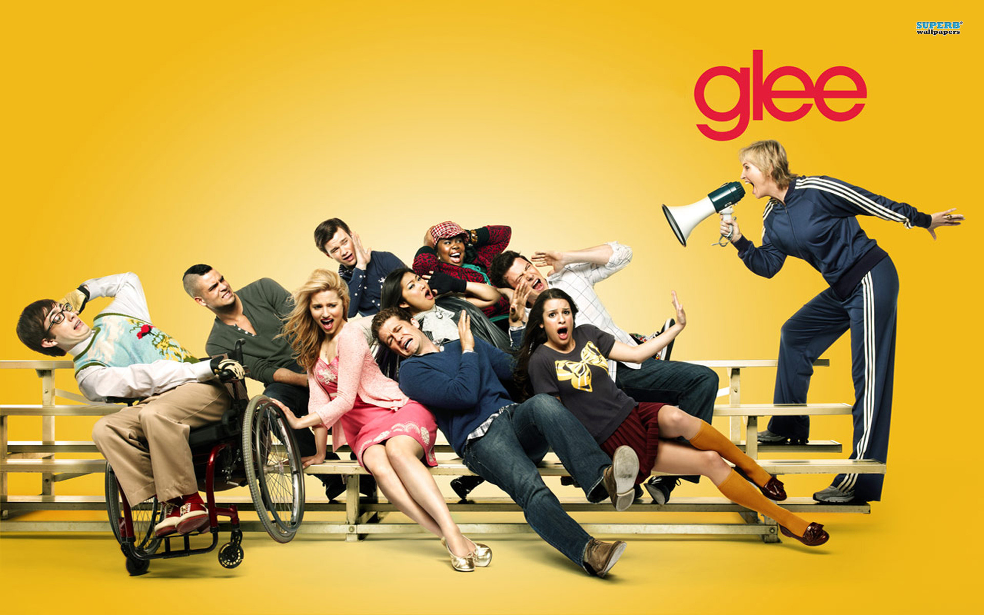 Glee pictures wallpaper 1920x1200 6176 glee pictures voltagebd Image collections