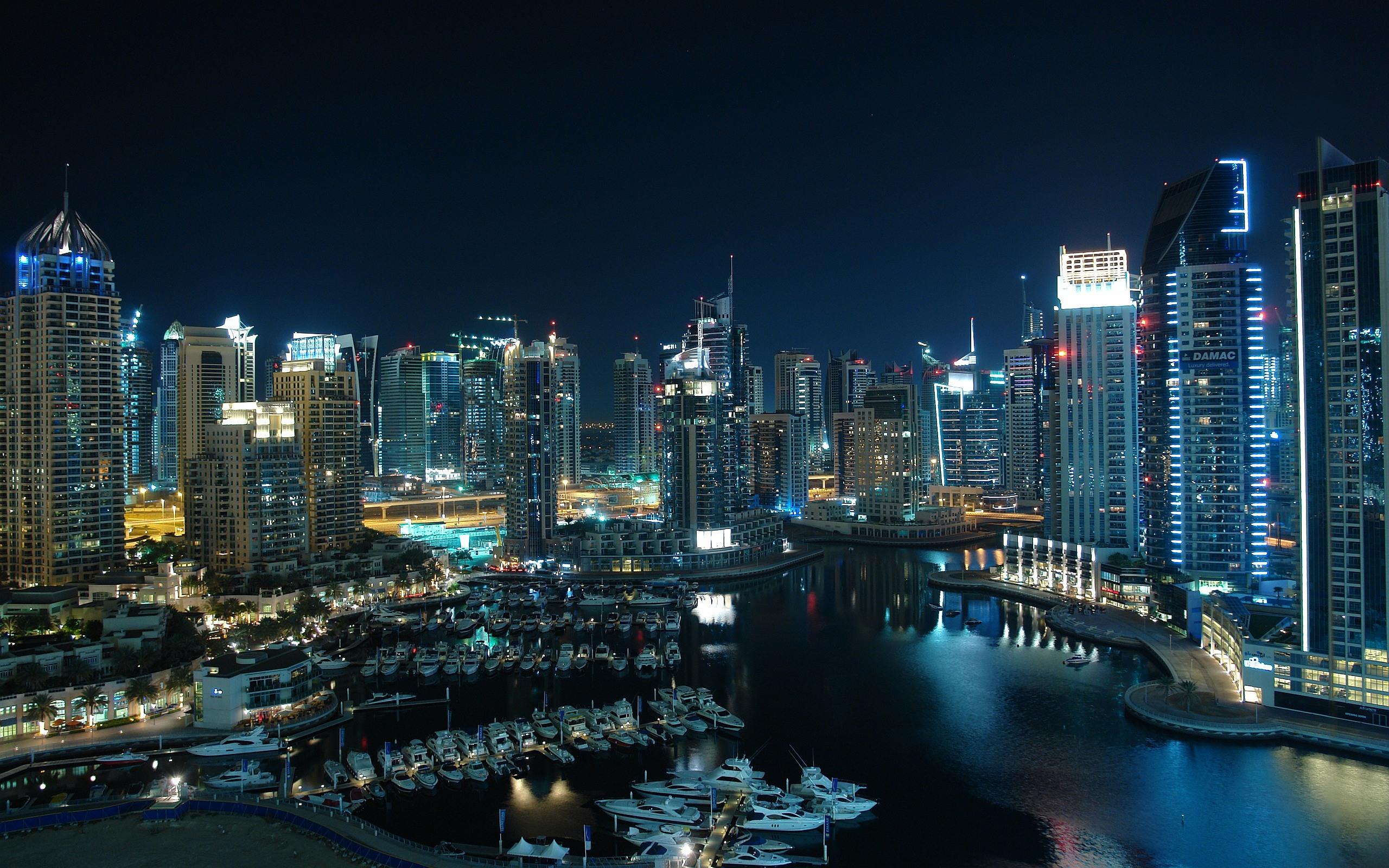 Glittering city Dubai