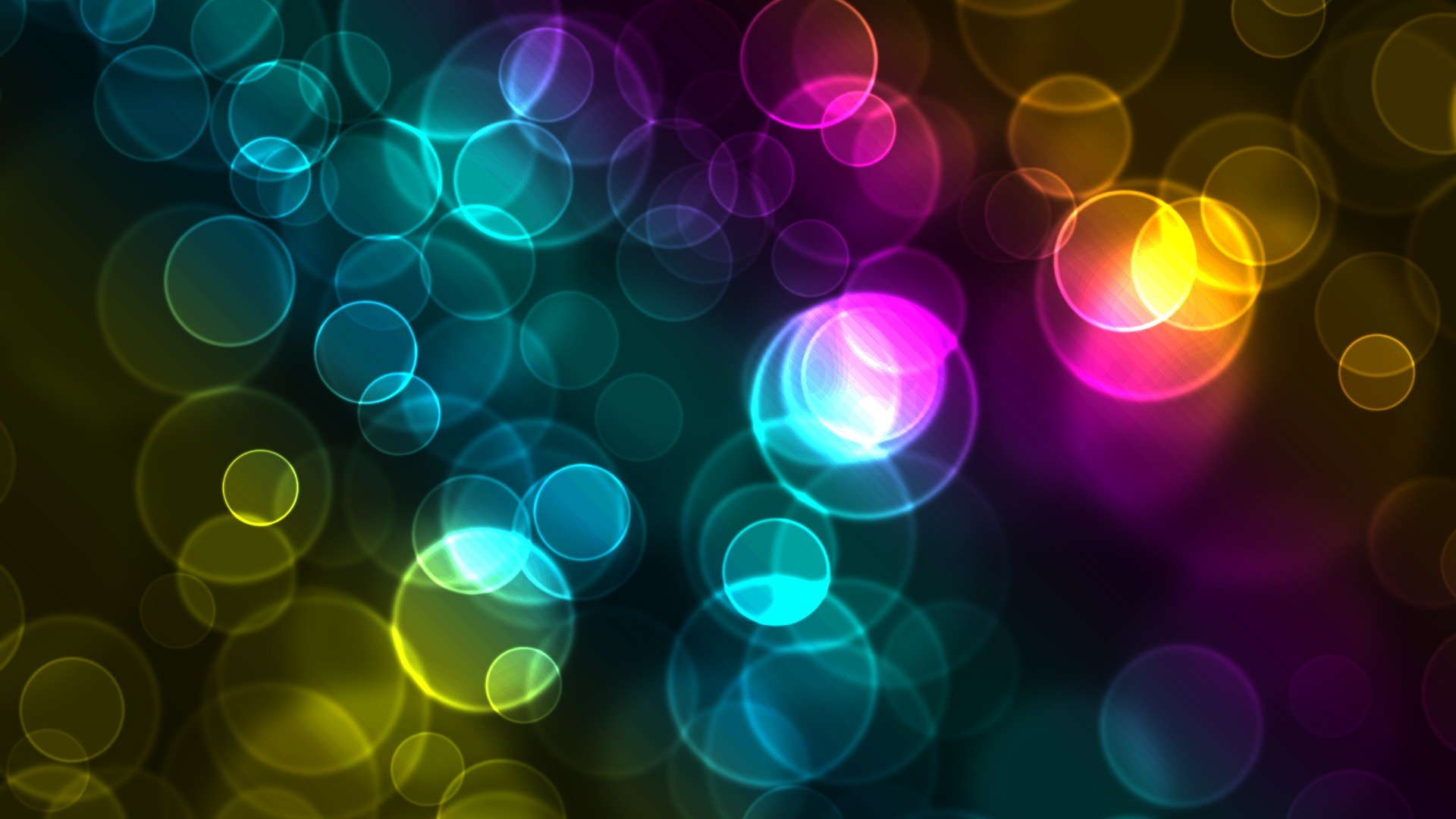 Glowing Circles Glowing Circles Wallpapers