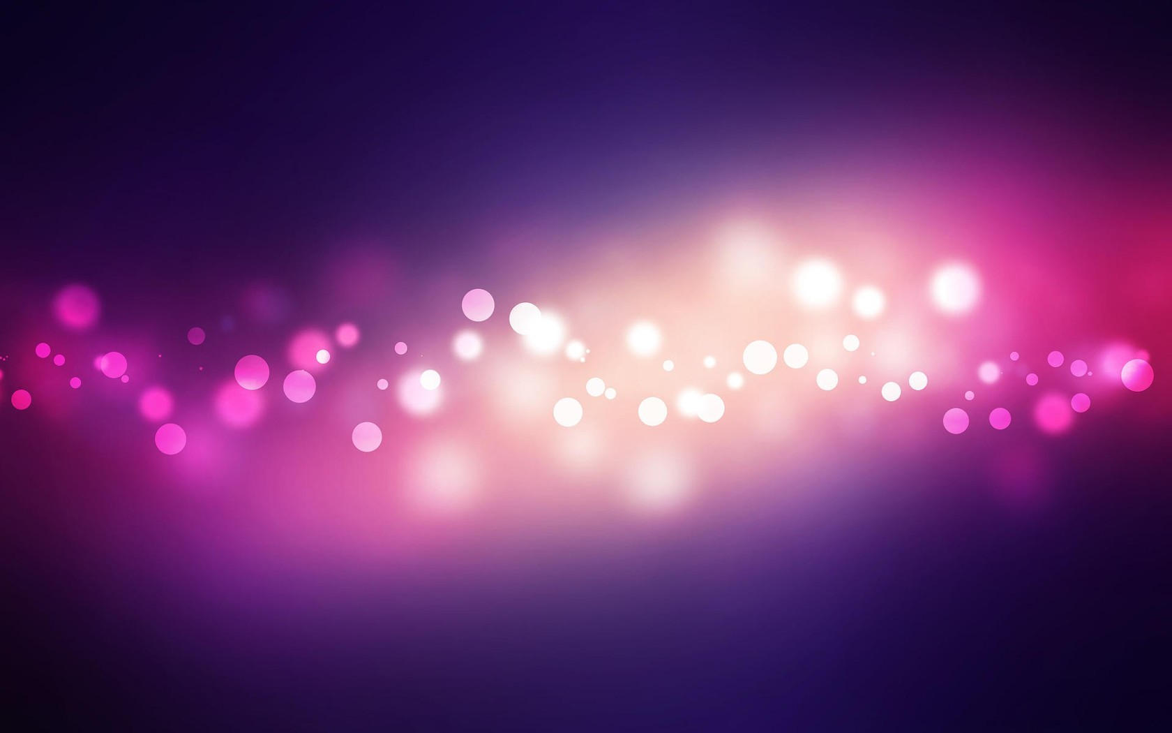 Abstract Glowing Wallpaper