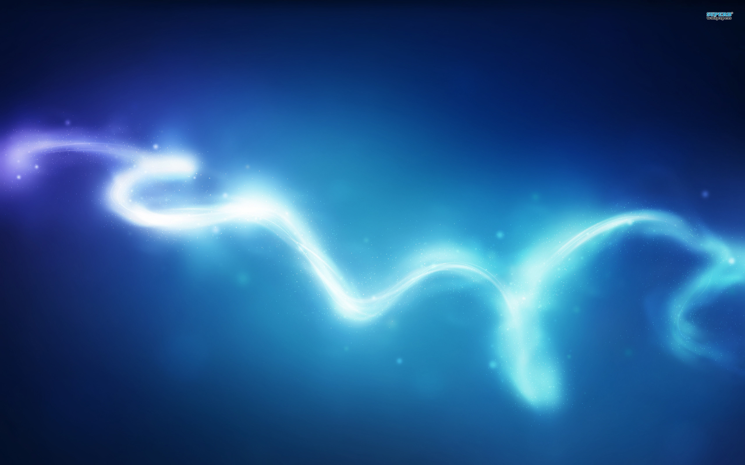 Glowing curve wallpaper 2560x1600
