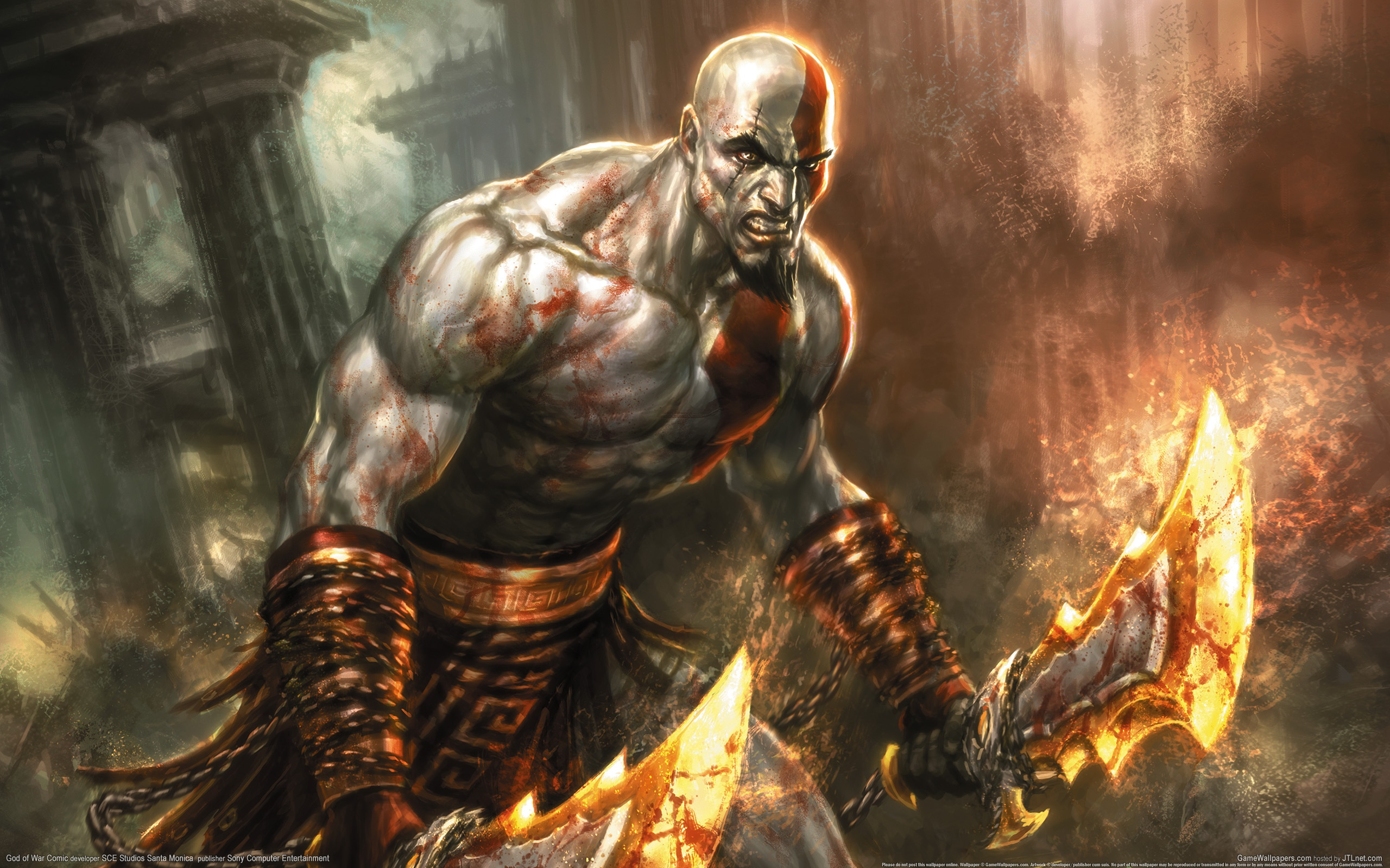 HD Wallpaper | Background ID:279045. 2560x1600 Video Game God Of War