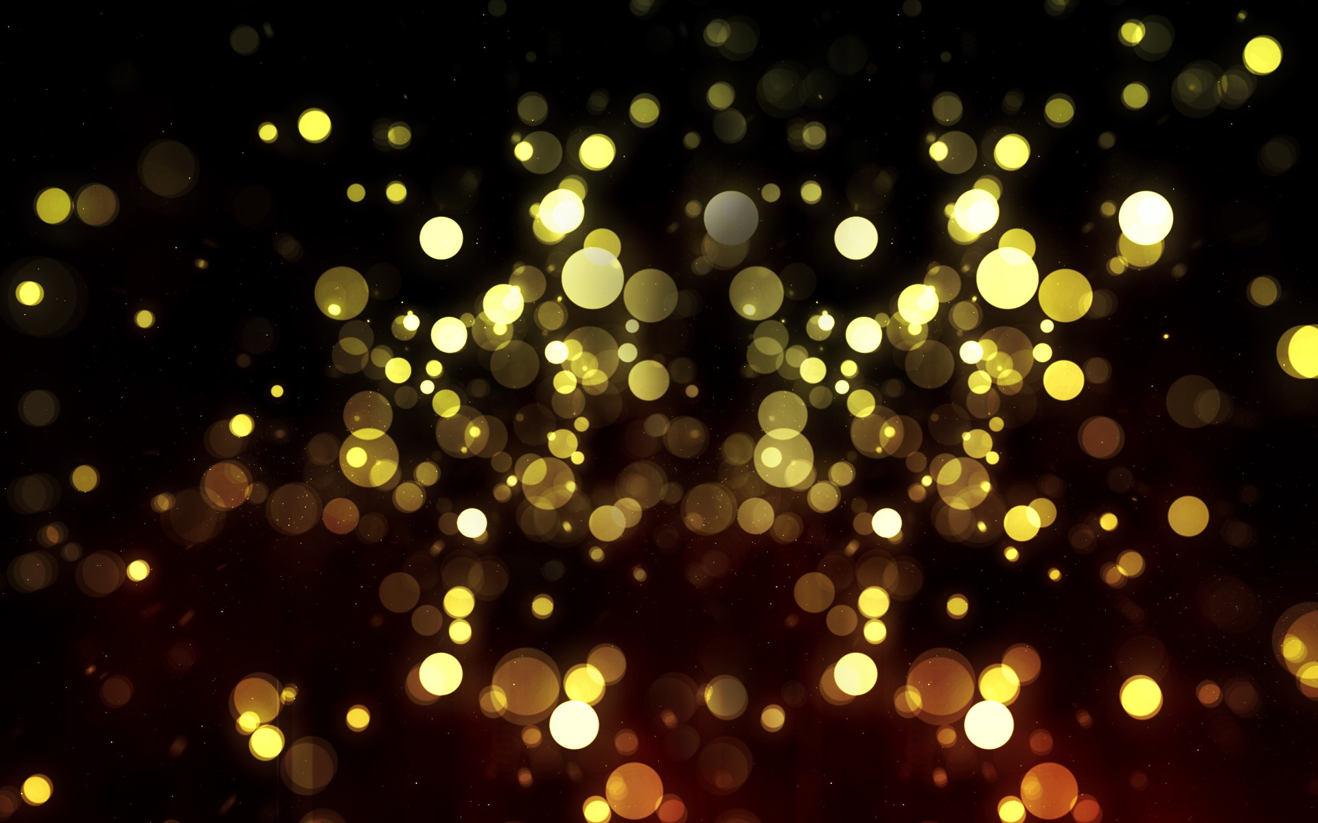 Gold Bokeh Wallpaper