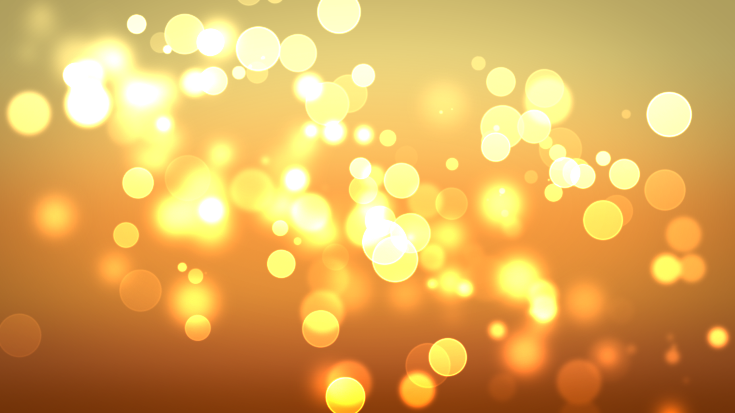 abstract artwork bokeh circles close-up gold best widescreen