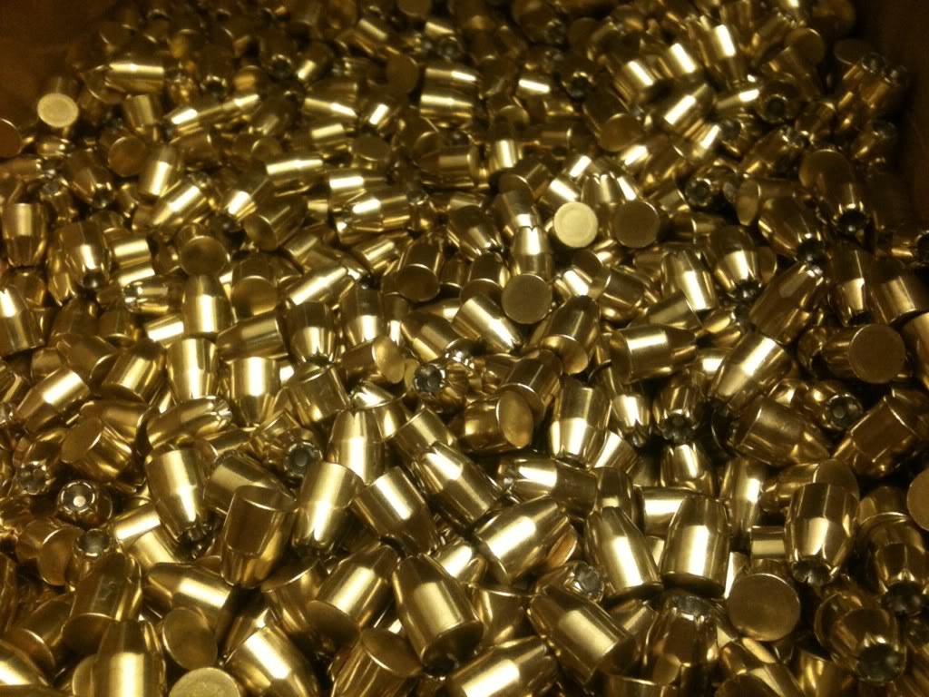 Gold Bullet Wallpaper