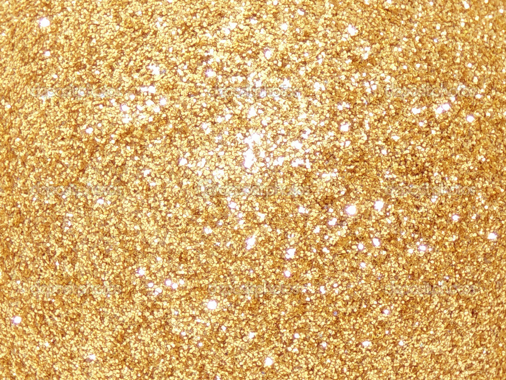 Gold Glitter Wallpaper