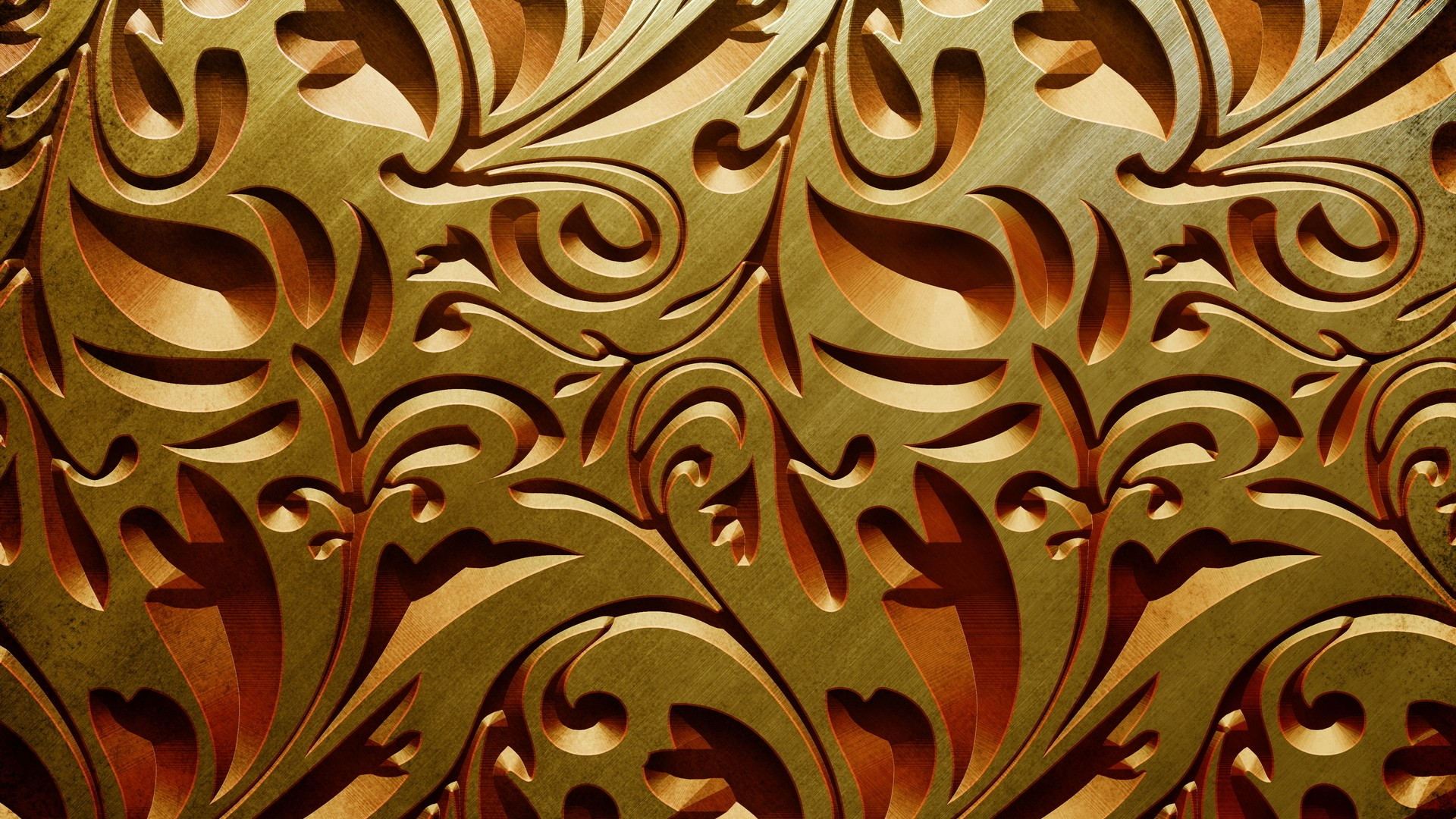 ... Gold Wallpaper ...