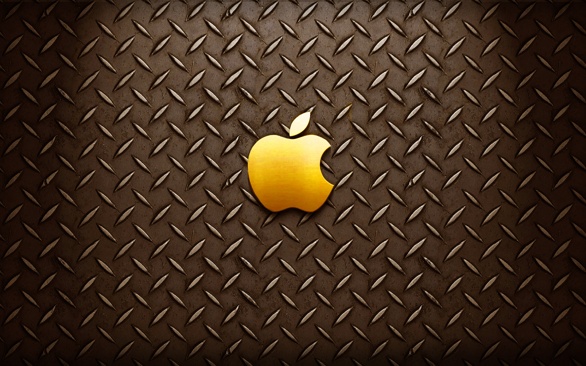 Gold Apple Logo