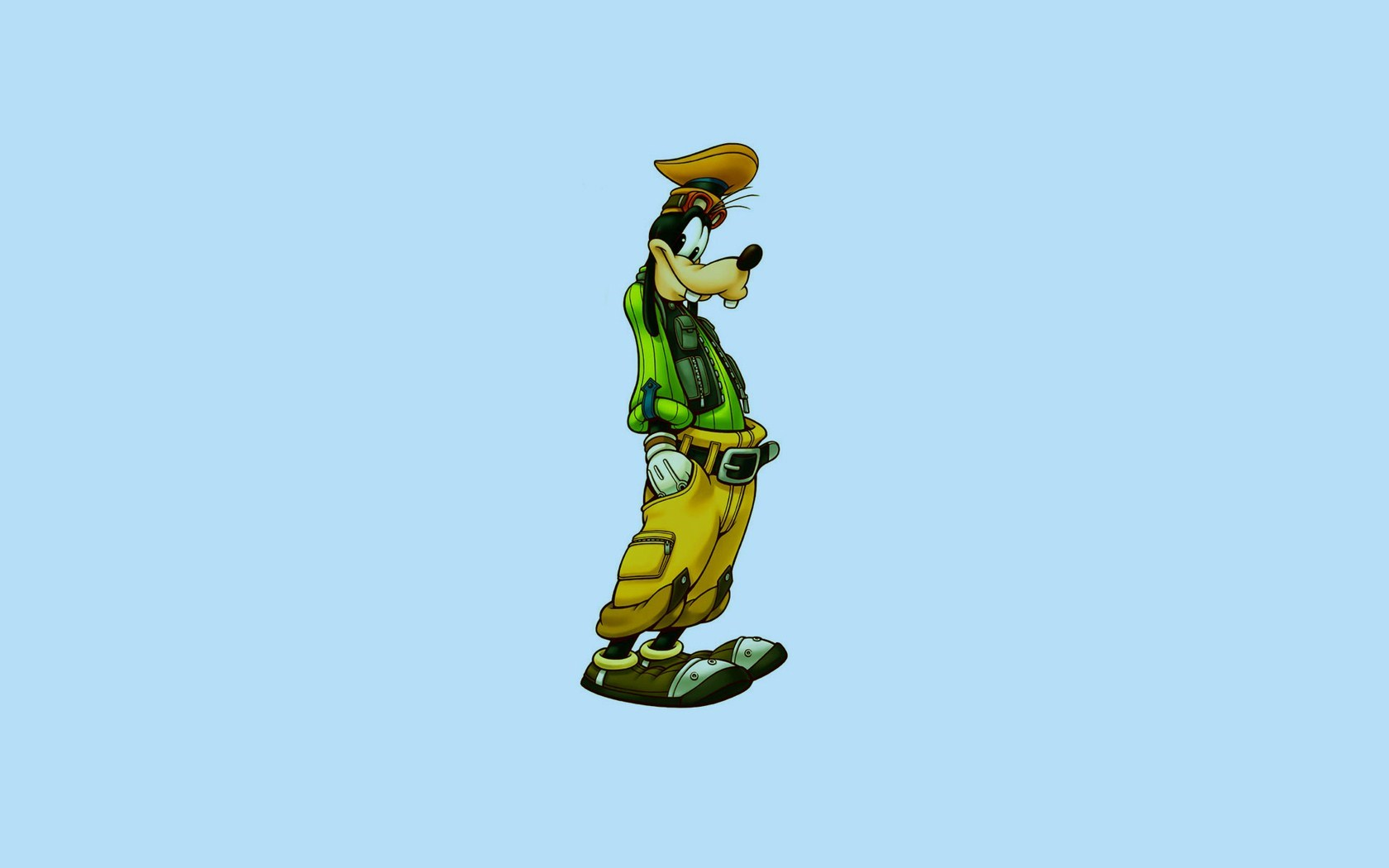 Goofy Minimalist Disney Funny