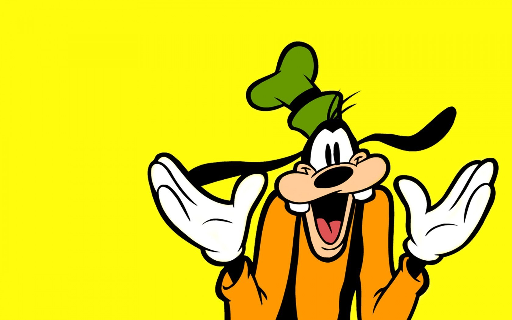 Goofy Walt Disney Cartoon