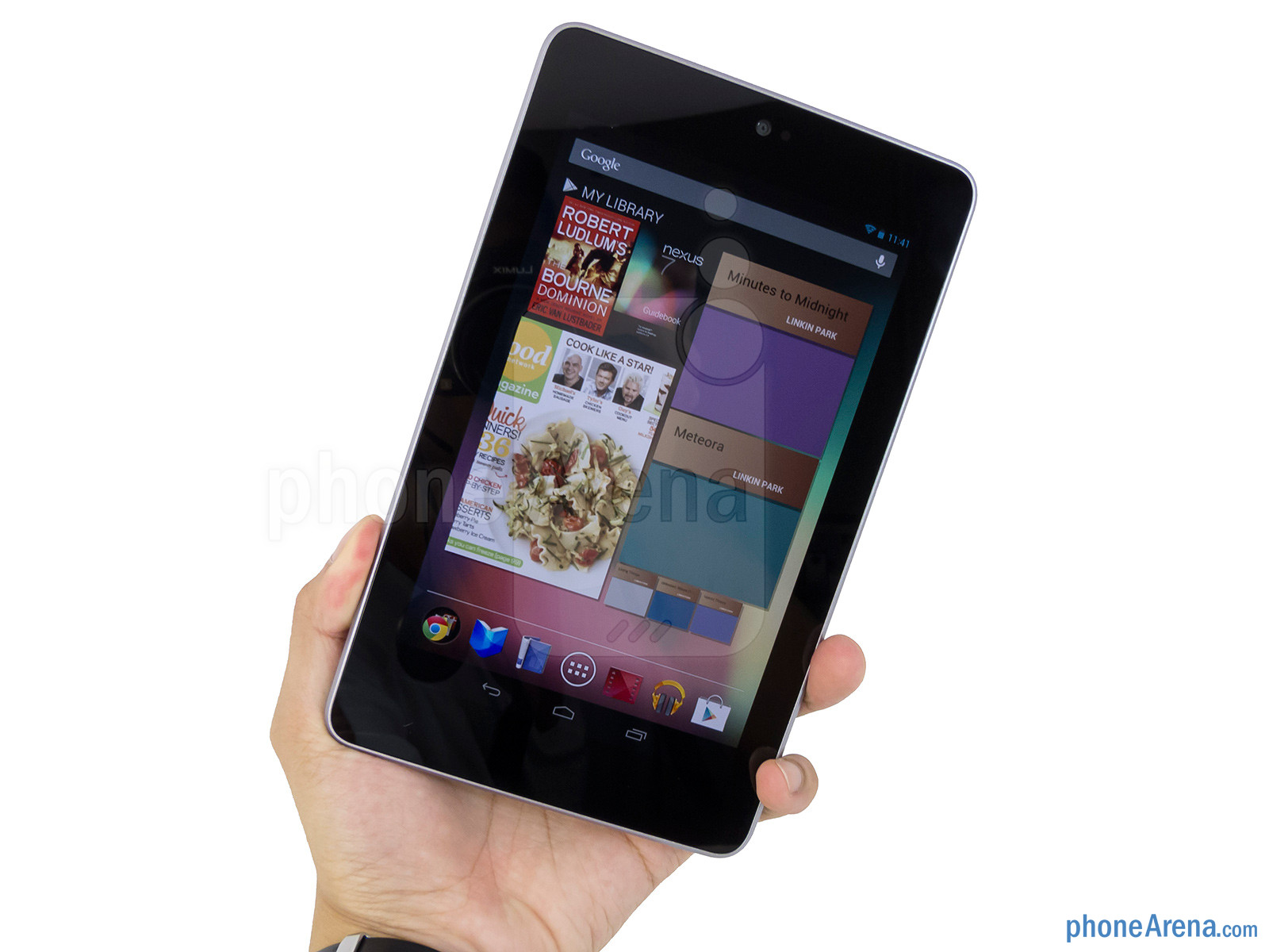 The Google Nexus 7 maintains a conventional design from the onset - Google Nexus 7 Review