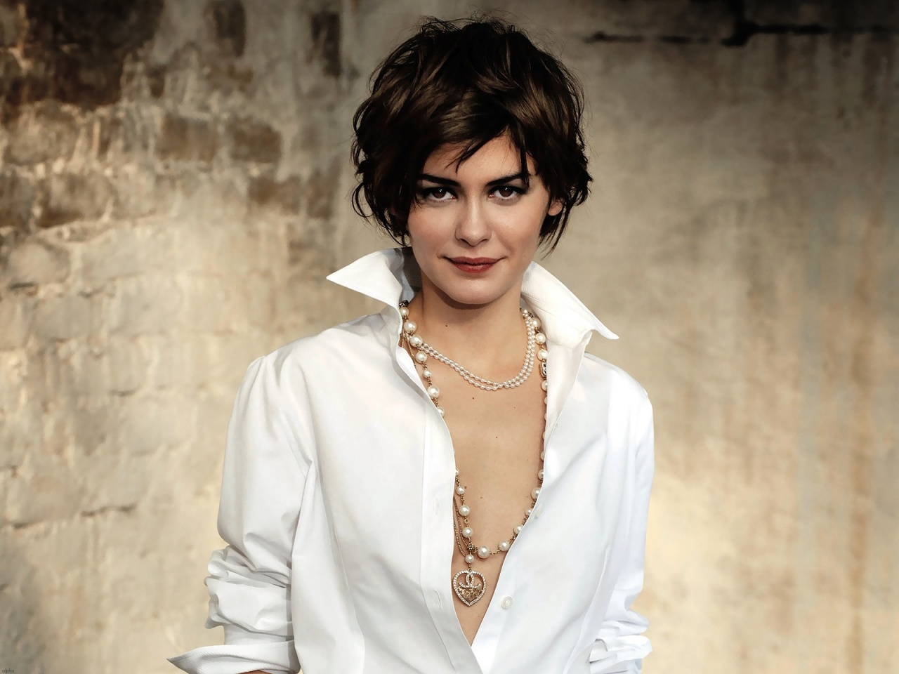 I became a instant fan of Audrey Tatou after seeing Amelie. Audrey is charming, funny, sweet, always has a sharp haircut and her skin is gorgeous!
