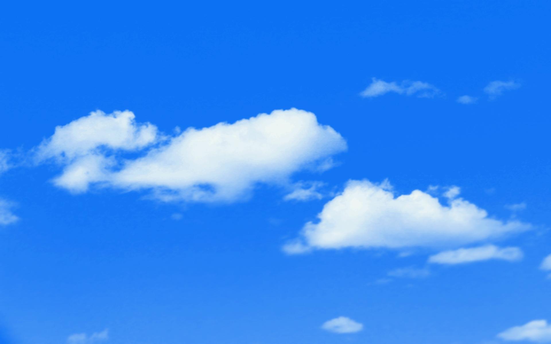 Gorgeous Blue Sky Wallpaper