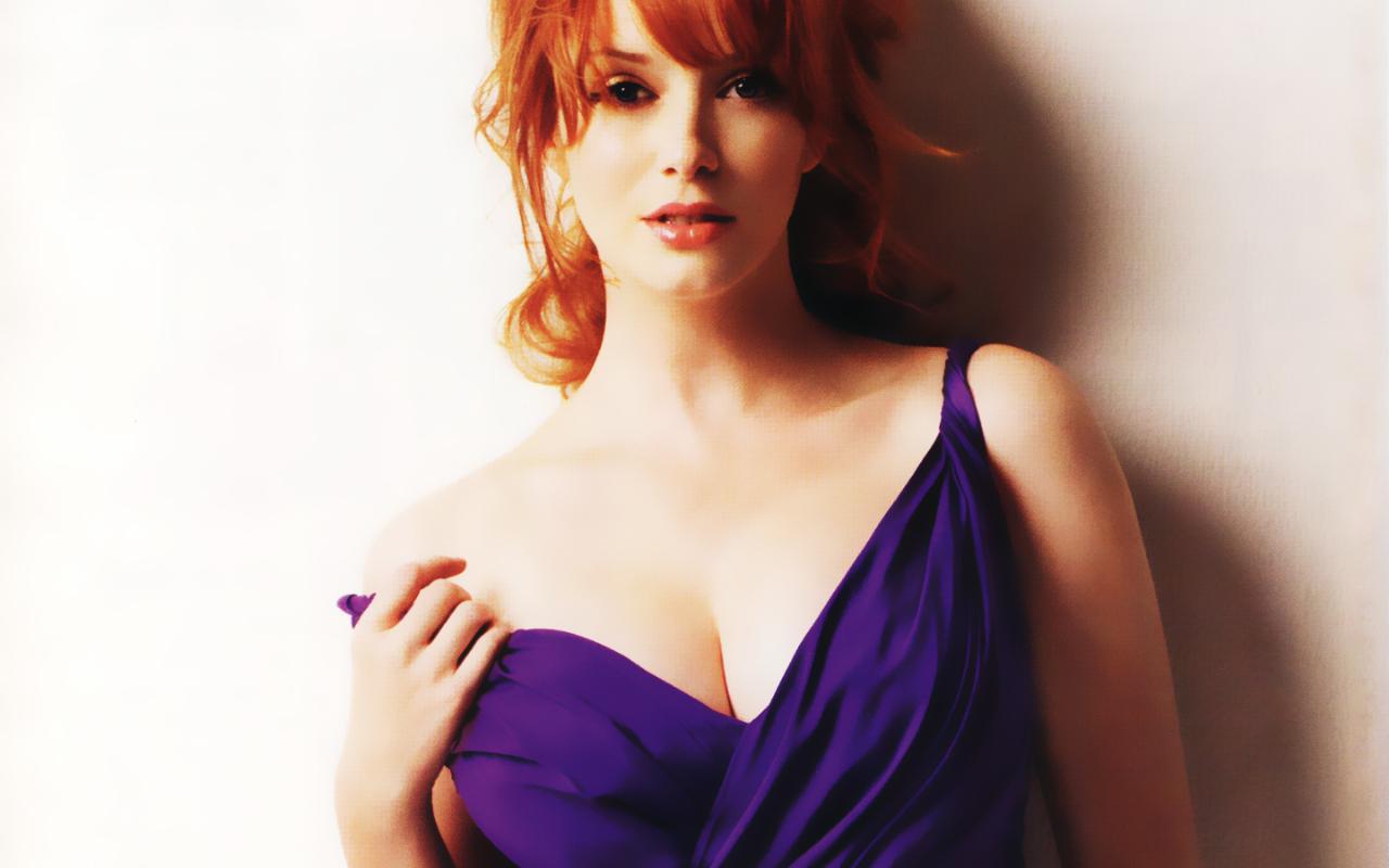 Gorgeous Christina Hendricks