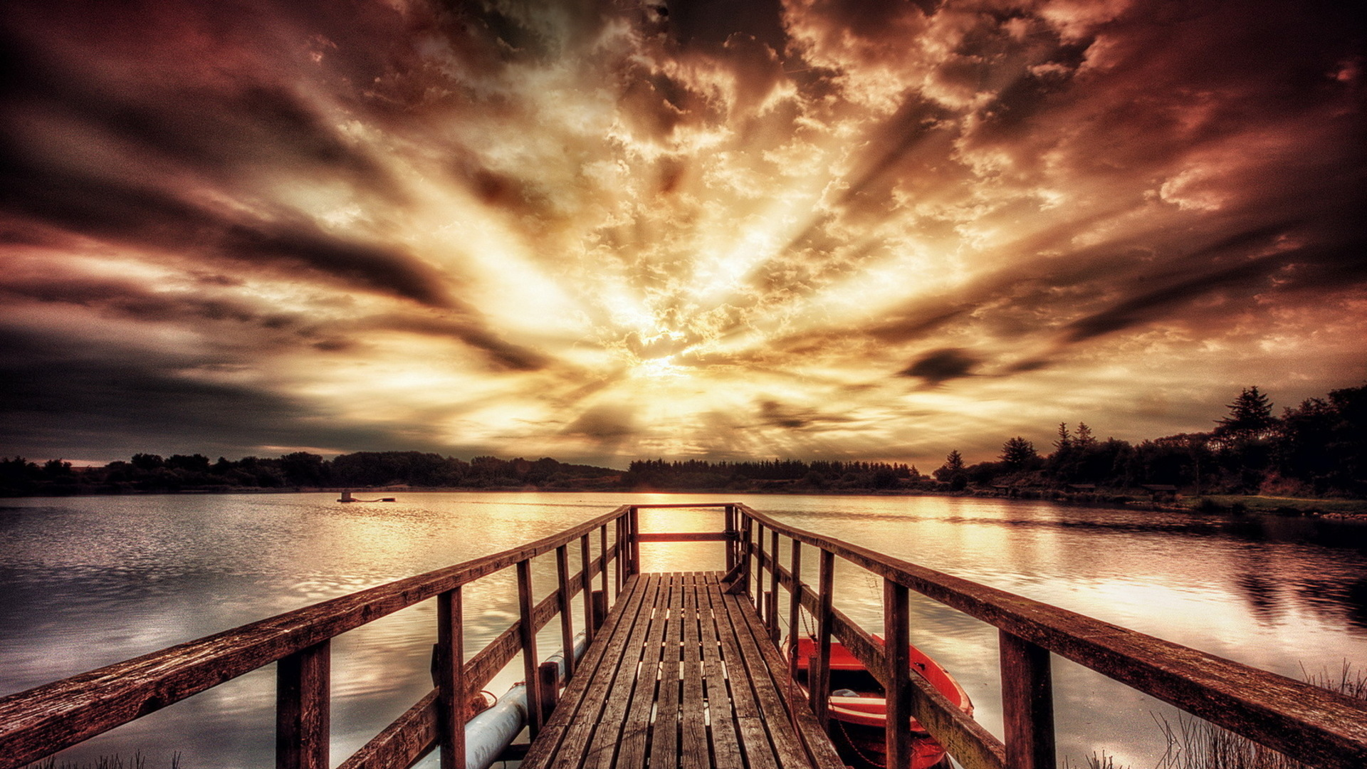 Beautiful Dock Wallpaper