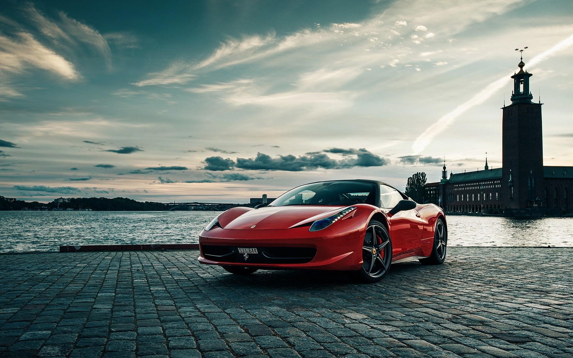 Gorgeous Ferrari Wallpaper