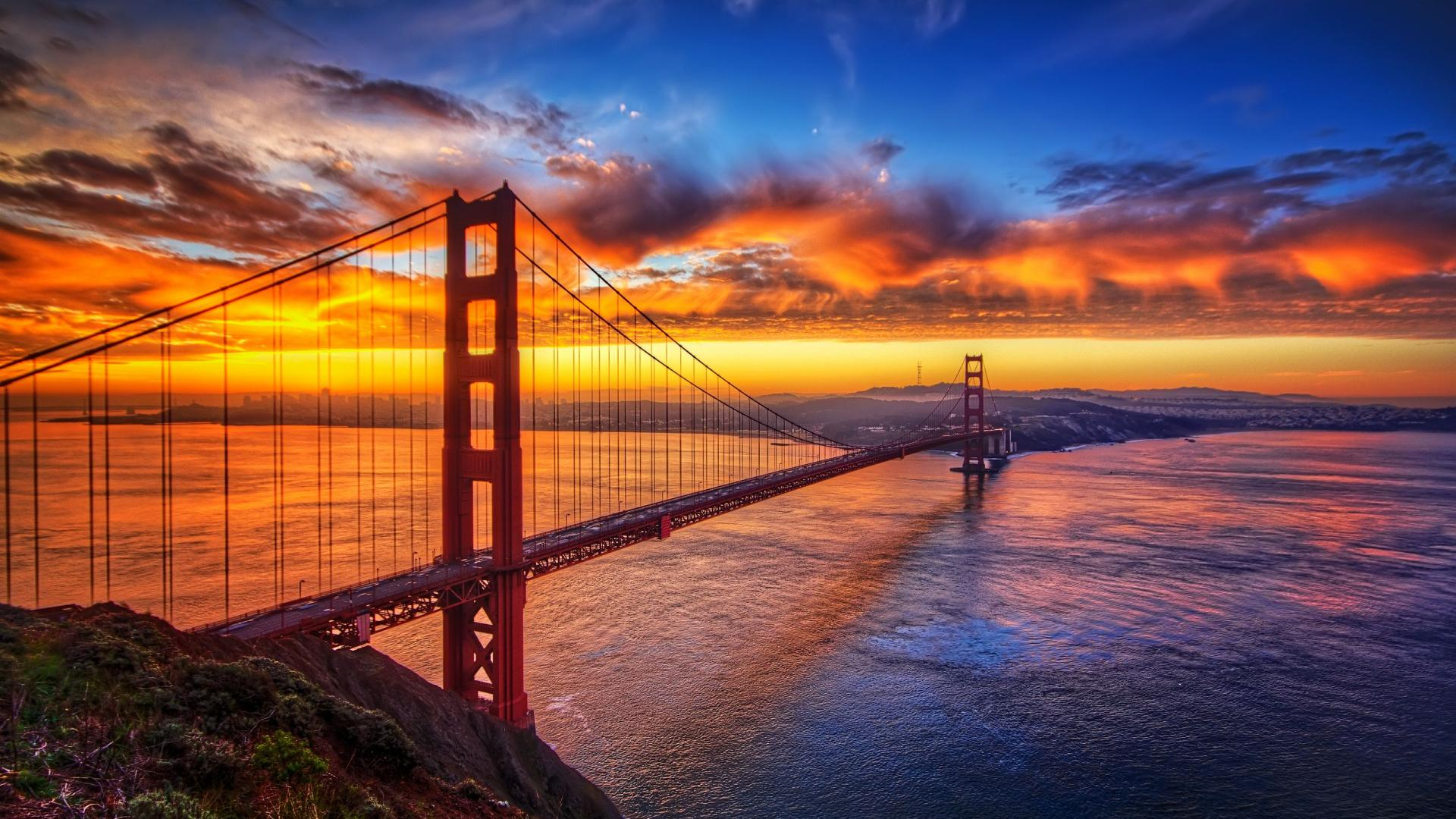 Gorgeous Golden Gate Wallpaper
