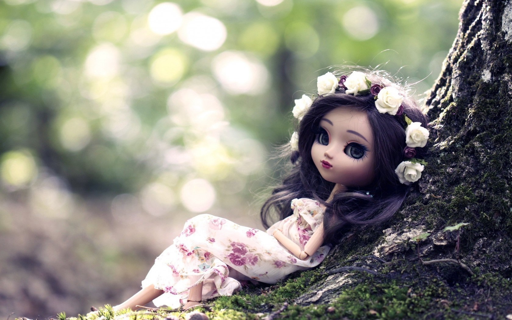 Gorgeous Toy Doll Wallpaper