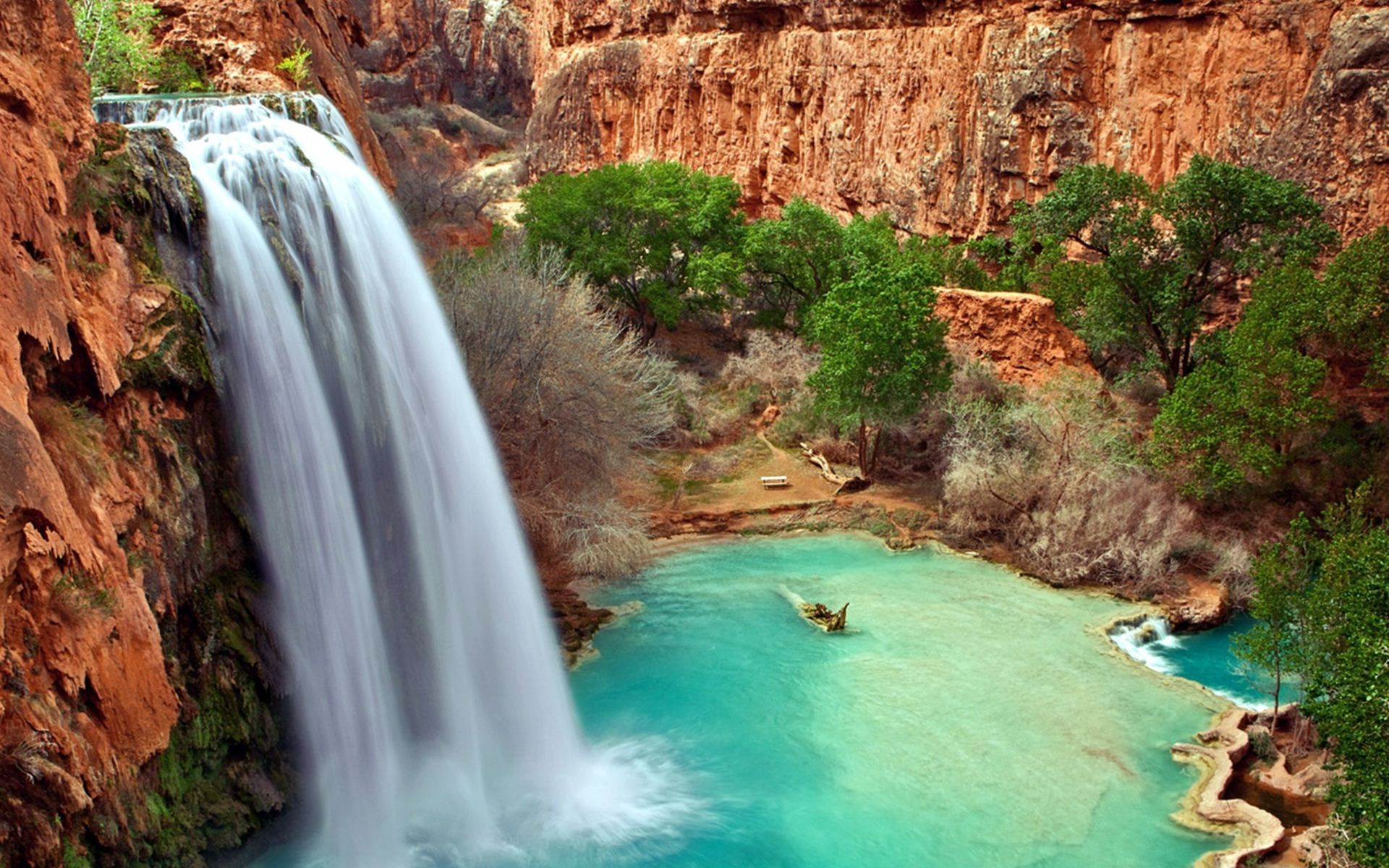 Beautiful Waterfall Pictures · Gorgeous Waterfall Wallpaper ...