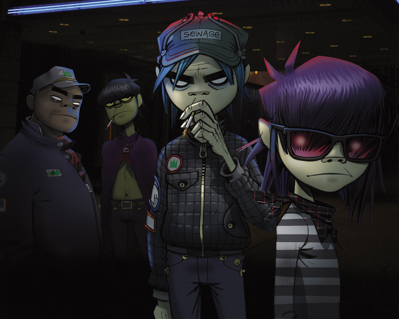 Gorillaz wallpaper 1280x1024 #70125