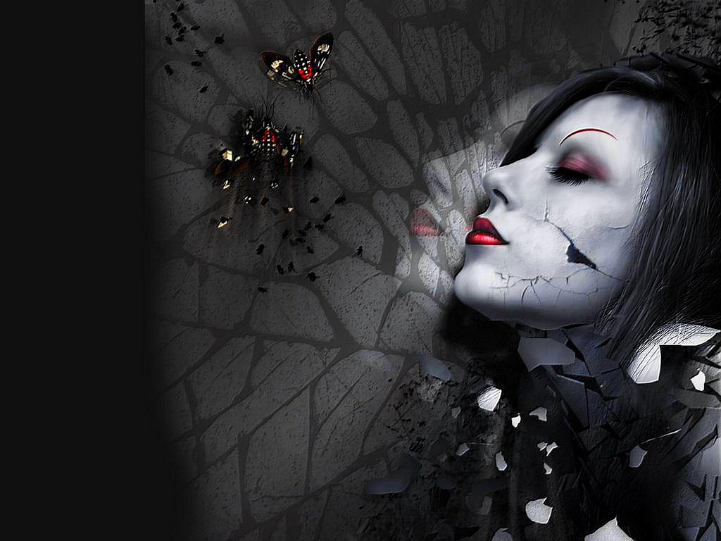 Gothic Girl Wallpaper Photos