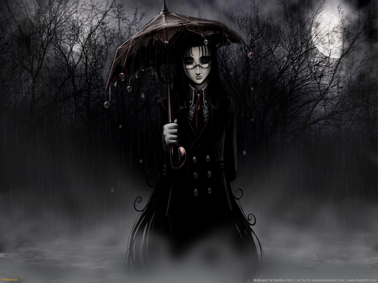 Gothic Girl Wallpaper