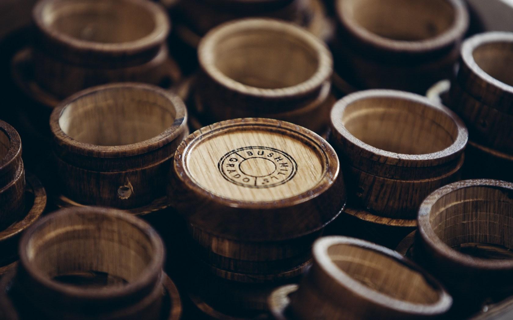 Elijah Wood and Zach Cowie Bushmills Irish Whiskey Barrels Grado Labs Headphones