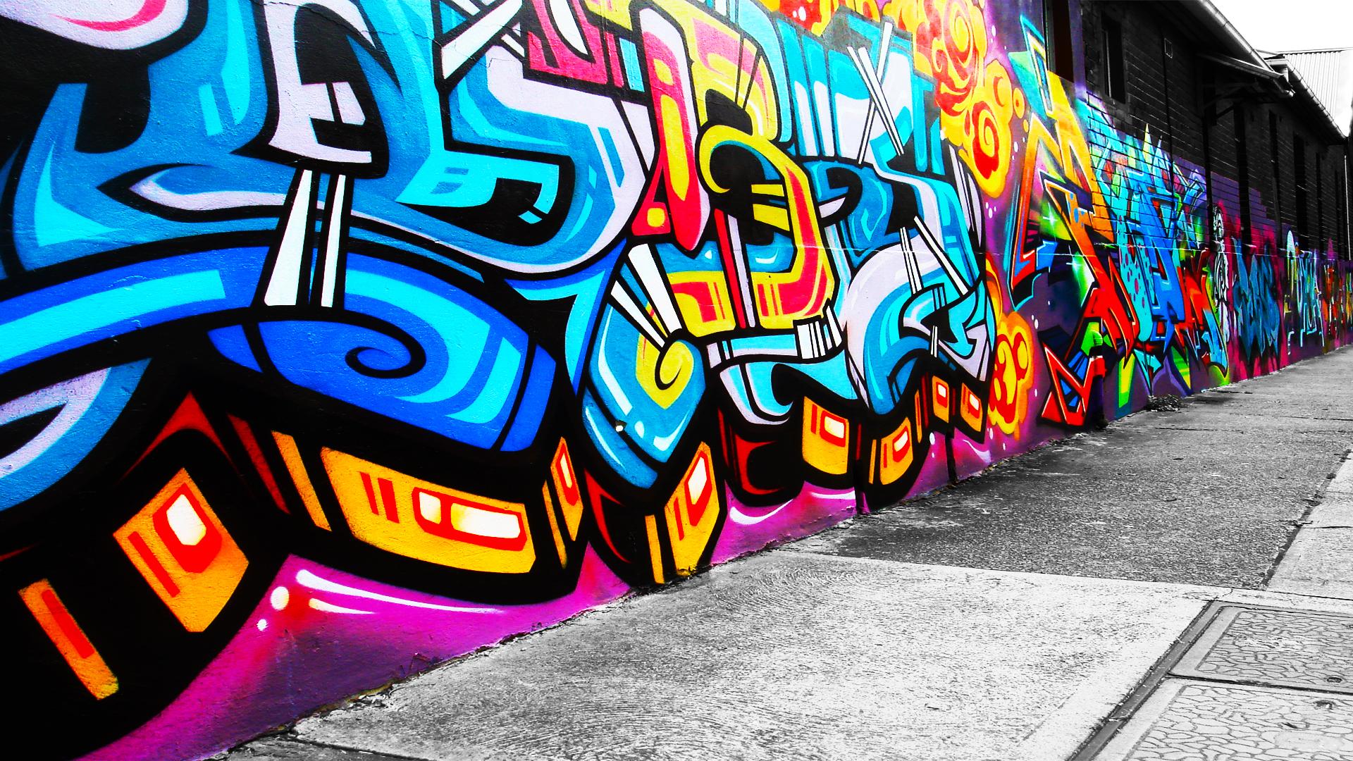 Wallpaper Of Graffiti